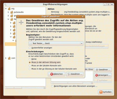 Benutzer das Herunterfahren erlauben, auch wenn mehrere Benutzer angemeldet sind.