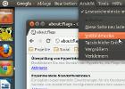 Chrome-Menü in der Menüleiste von Unity anzeigen