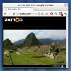 Zattoo im Browser mit Chrome, Stylish und Ultrawide erträglich machen