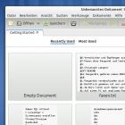 Das Zeitgeist-Dashboard für Gedit unter Ubuntu Oneiric 11.10 installieren