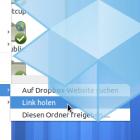 Dropbox erleichtert das freigeben/teilen von Daten.