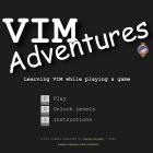 VIM Adventures zum Erlernen der VIM Tastaturkürzel