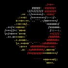 Linux-Banner und einfache SysStats in ASCII-Art