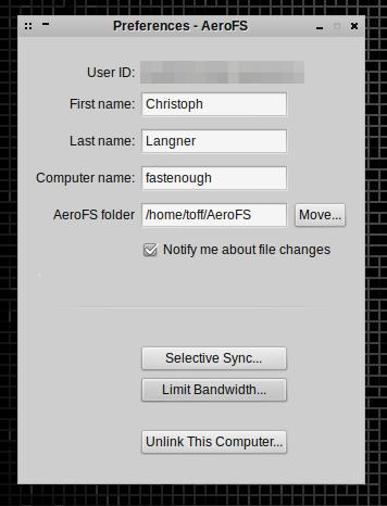 Das Sync-Tool speichert keine Daten in der Cloud.