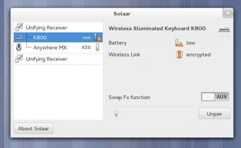Trennt Mäuse/Tastatur von einem Adapter und koppelt sie mit einem anderen.