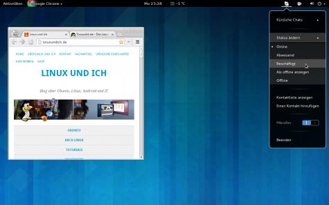 Skype Integration tut das was der Name verrät, die Erweiterung integriert Skype besser.