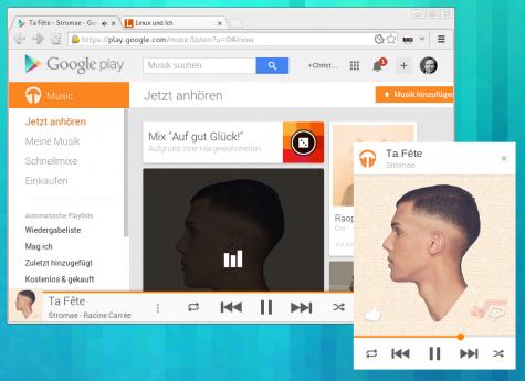 Der Mini-Player muss aktuell noch in den Google-Music-Labs aktiviert werden.