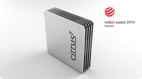 Der Cirrus7 Nimbus gewinnt einen reddot award 2014.