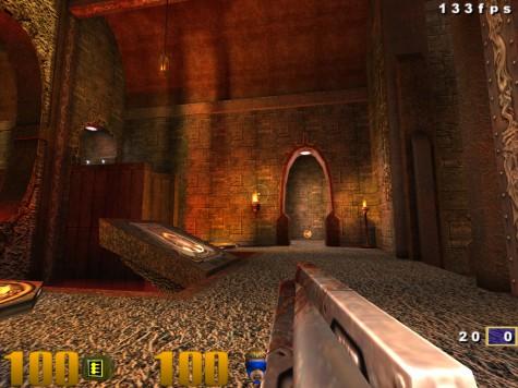 Quake III auf dem Raspberry Pi mit 133 fps.