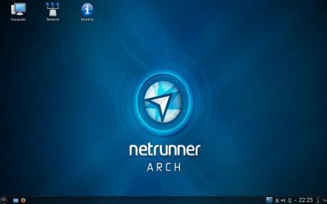 Als Desktopumgebung kommt bei Netrunner OS immer KDE zum Einsatz.