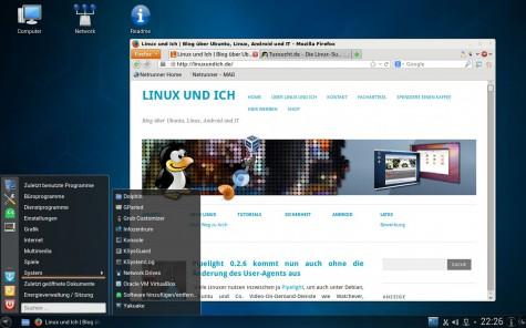 Alls in allem installiert Netrunner Rolling Release einen vollständigen Desktop.