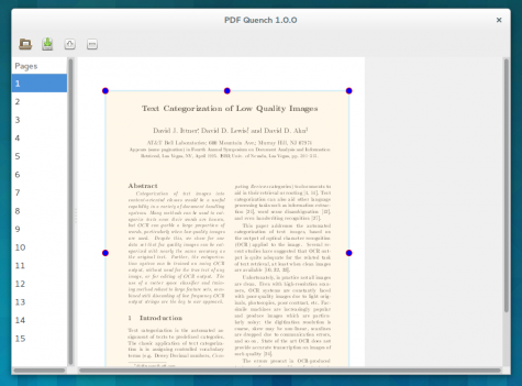 Auch mit PDF-Quench lässt sich ein PDF in einem Rutsch zuschneiden.