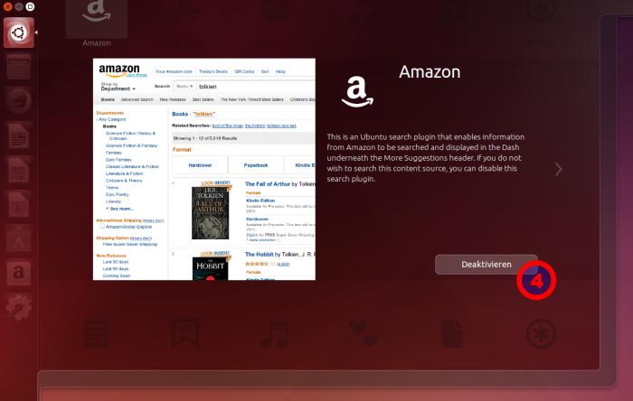 So lässt sich dann zum Beispiel nur die Anzeige von Amazon-Links deaktivieren.