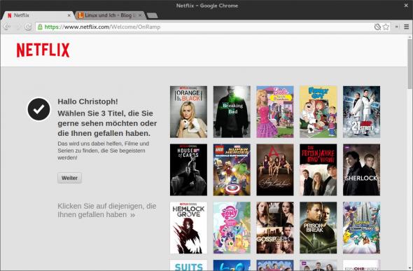 Netflix ist seit Mitte September auch auf dem deutschen Markt aktiv.