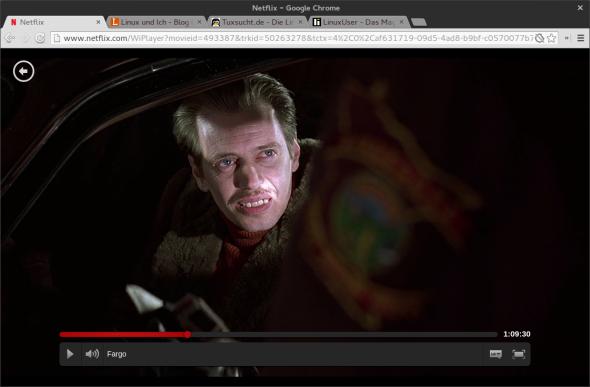 Im Gegensatz zur Konkurrenz bietet Netflix allerdings auch HTML5-Streams an.