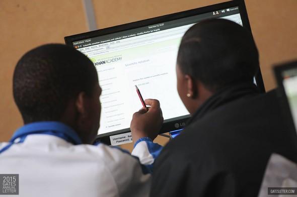 Bill Gates sieht in Ubuntu die Chance für eine bessere Zukunft.