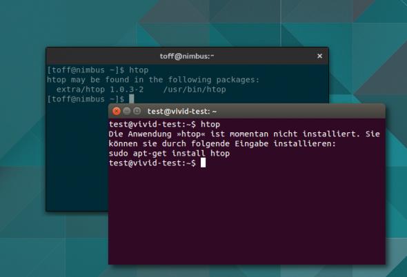 Pkgfile zeigt auf Wunsch wie bei Ubuntu welche Pakete installiert gehören.