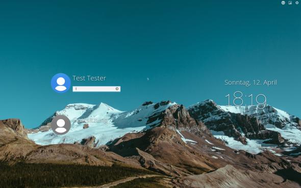 Elementars OS nutzt als Displaymanager LightDM.