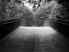 Karlsruhe KIT Brücke