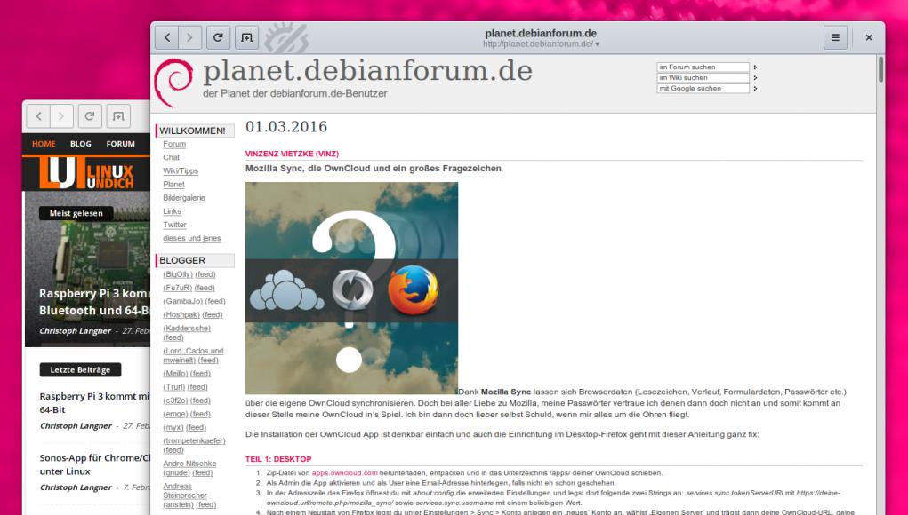 Planet Debianforum