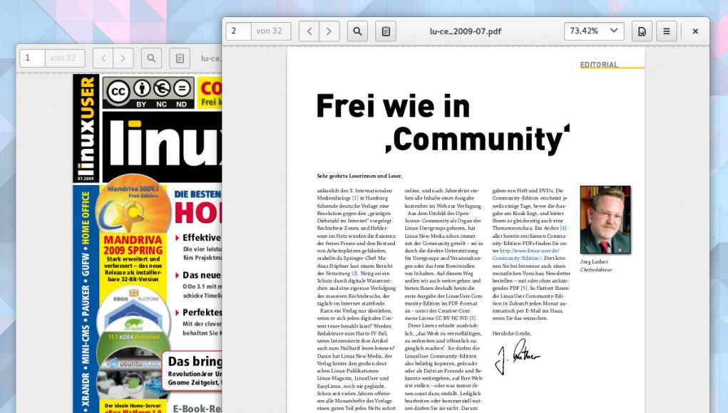 LinuxUser Community-Edition