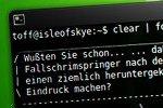 Terminal mit flotten Sprüchen wie bei Linux Mint