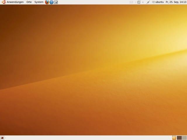 Das finale Design von Ubuntu Karmic Koala 9.10