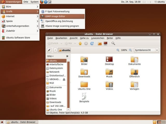 Das neue Ubuntu Human Theme mit Humanity Icons