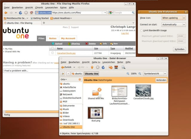 Der Cloud-Speicherdienst Ubuntu One