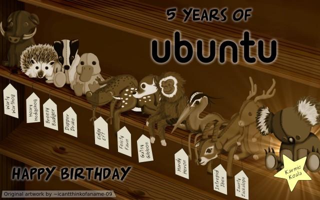 5 Jahre Ubuntu