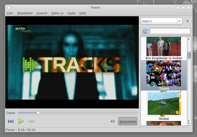 Totem zeigt TRACKS auf ARTE+7