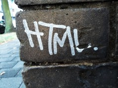 HTML Tag Graffiti