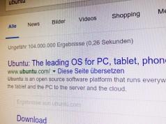 Google Suche Ubuntu