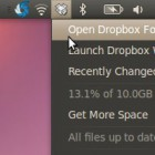 Dropbox in Grau