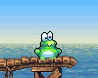 Frogatto and Friends, ein 2D Jump 'n' Run Spiel