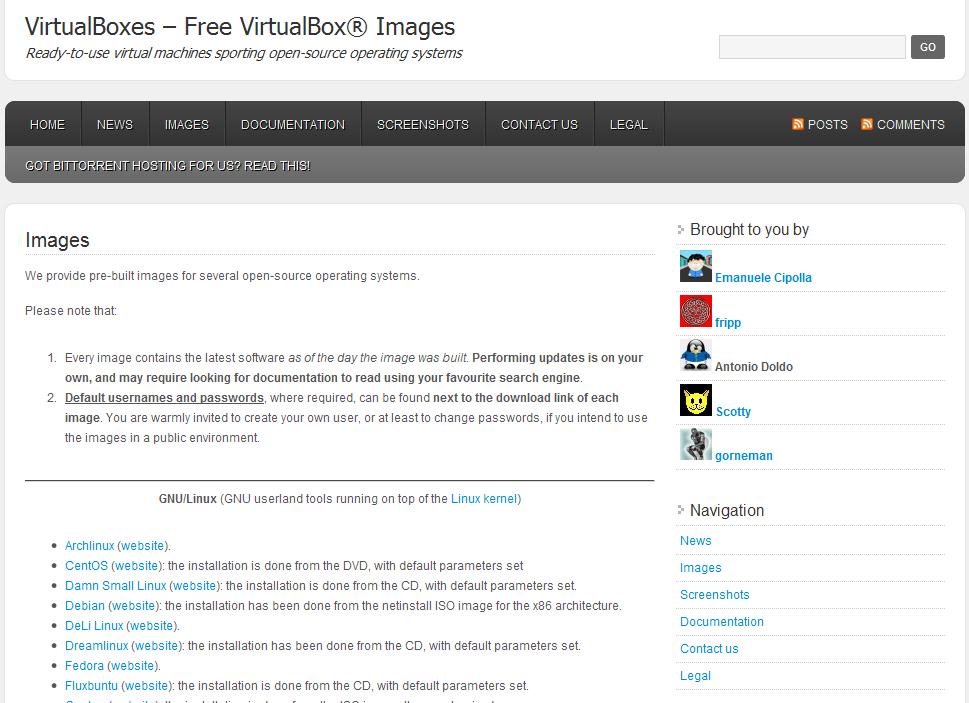 Fertige Virtuelle Maschinen Für Virtualbox