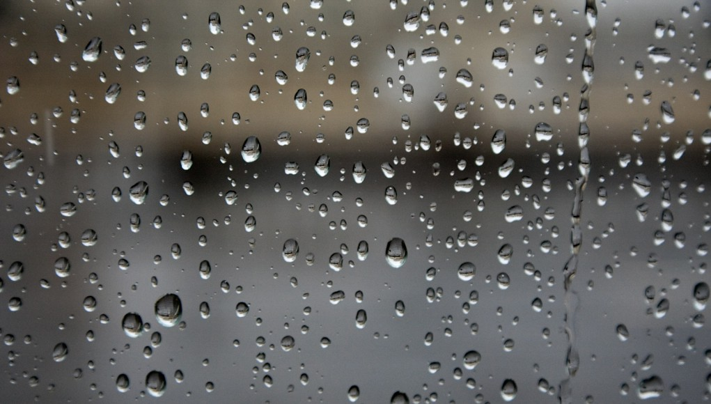 Raindrops Window Transparent