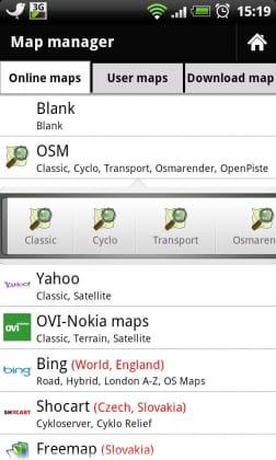 Oder auch die OpenStreetMaps