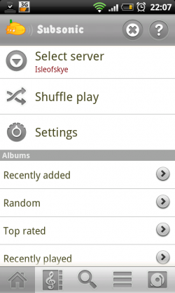 Subsonic für Android