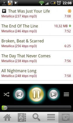 Subsonic für Android: Bereit zu Streamen