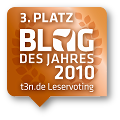 t3n Blog des Jahres