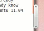 Overlay Scrollbars: Neues Scrollbar-Konzept in Ubuntu Natty 11.04