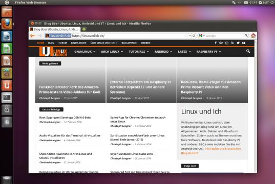 Ubuntu 11.04 Natty Desktop