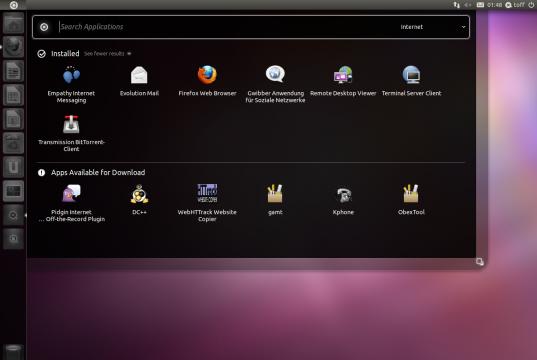 Ubuntu 11.04 Natty Dash