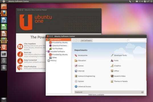 Ubuntu 11.04 Natty Software Center