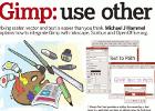 18 hochqualitiative Gimp-Anleitungen als PDF zum Download