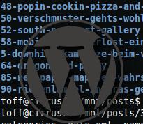 Ein WordPress-Blog mit PressFS ins Dateisystem mounten