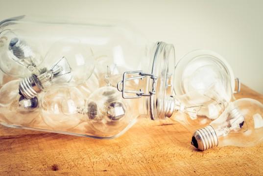 Glühbirnen Ideen