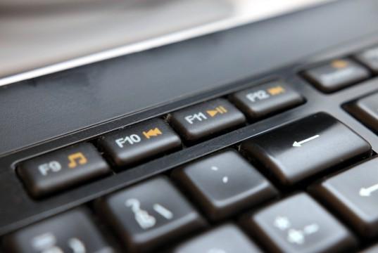 Tastatur mit Multimediatasten