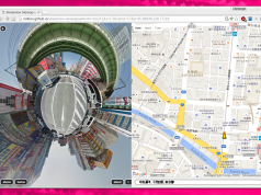 Streetview Stereographic